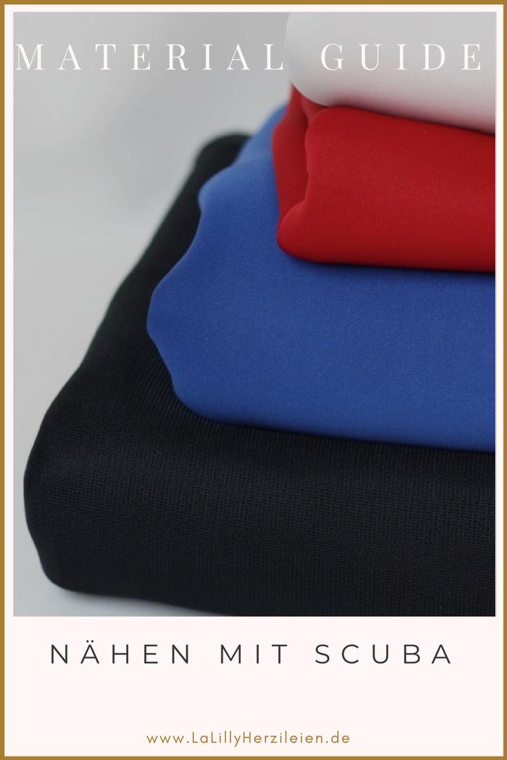 Scuba ist ein moderner Modestoff, der in Deutschland immer mehr an Bedeutung gewinnt. Doch was muss man beachten, wenn man ihn verarbeiten möchte und was sind die Unterschiede zu Neopren? Tipps und Tricks zum Nähen mit Scuba findest du in diesem Scubaguide.