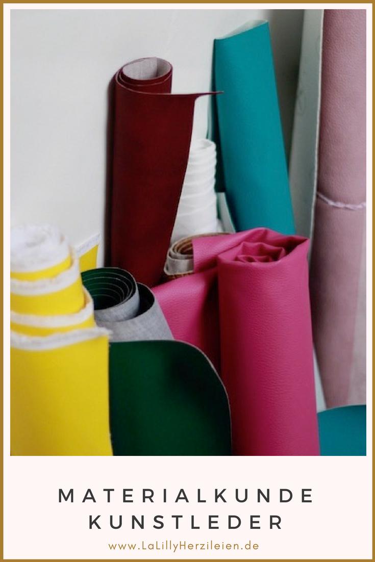 Kunstleder wird oft als ein schwieriges Material zum Nähen bezeichnet. In der Materialkunde Kunstleder findest du Informationen zu Arten von Kunstleder, Eigenschaften, die es für das Nähen von Kunstledertaschen mitbringen sollte und zur richtigen Pflege deiner selbstgenähten Stücke.