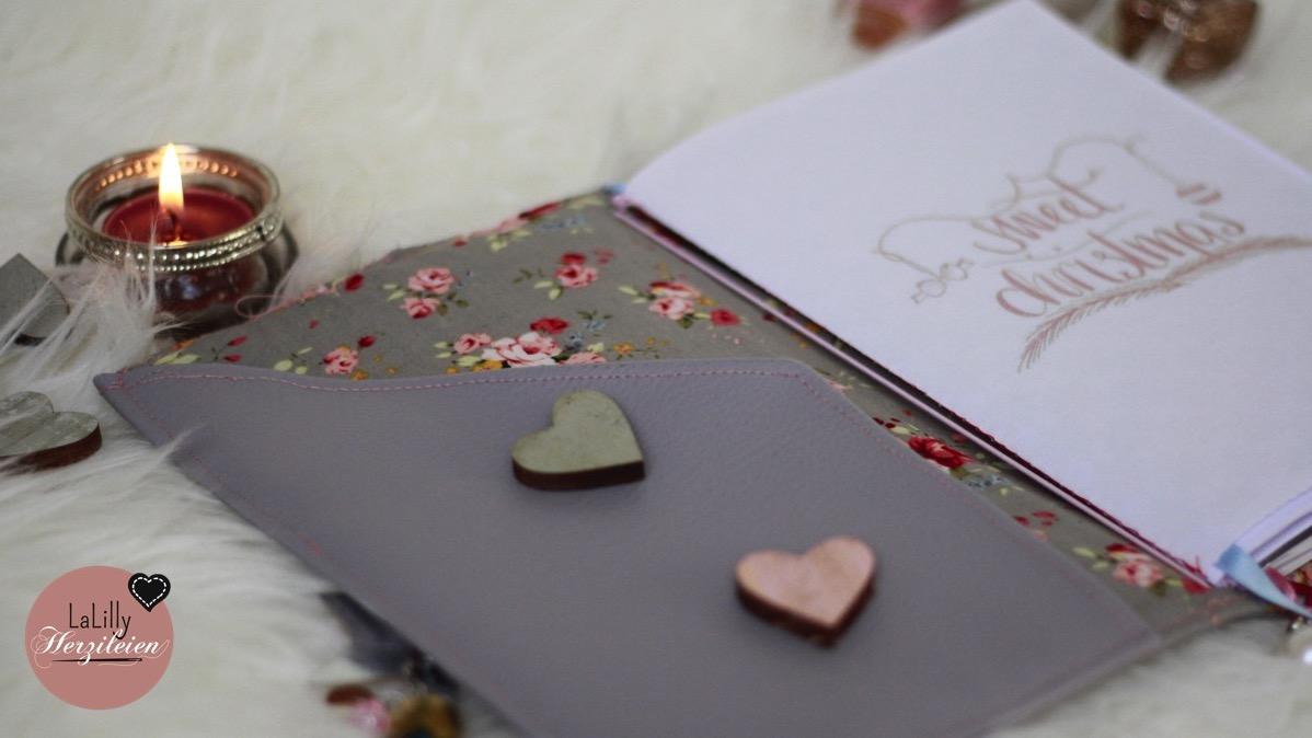 Traveller Notebook nähen – Freebook Journal Alma