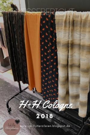 Vom 23.-25.3.2018 fand in Köln die H+H, die Fachmesse für Hobby und Handarbeit statt. In diesem Jahr konnte ich zum ersten Mal teilnehmen und mir einen Eindruck von neuen Trends, spannenden Produkten und anderen Bloggern zu verschaffen. Einen kleinen Einblick in meine Erlebnisse und Entdeckungen möchte ich dir heute mit diesem Bericht geben.