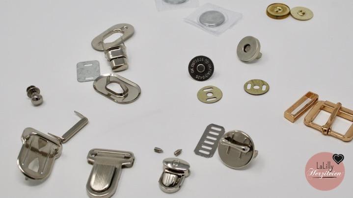 Taschenverschlüsse für selbstgenähte Taschen Teil 1 – Die Wahl des geeigneten Verschlusses