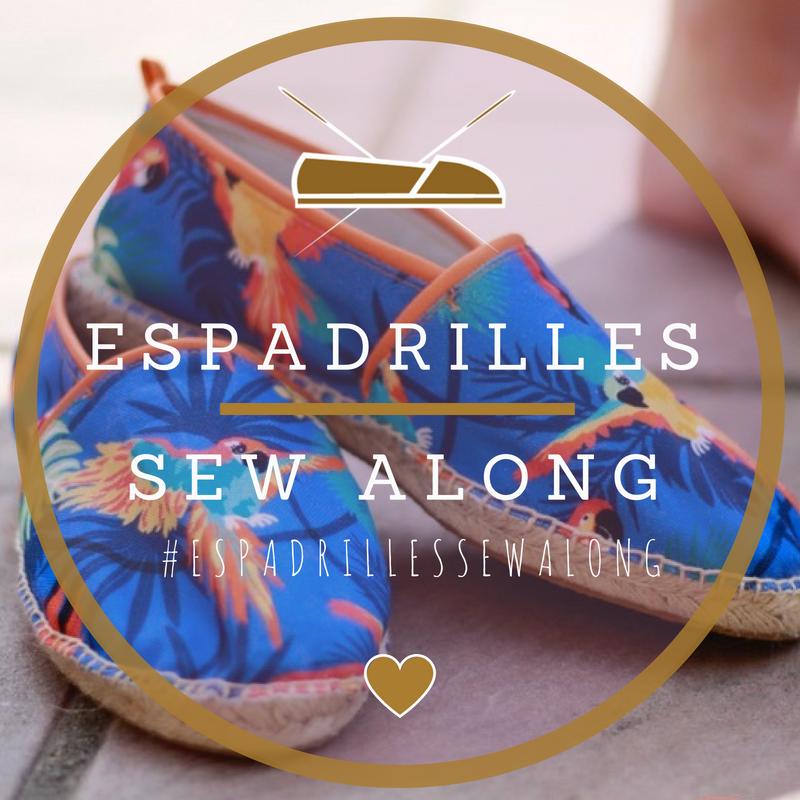 Schuhe selber zu machen scheint für Hobbyschneider fast unmöglich. Aber es geht! Tipps und Tricks zum Nähen modischer Espadrilles und viel Spaß beim virtuellen Nähtreff erwarten dich im #EspadrillesSewAlong