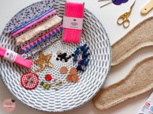 Espadrilles- Sew Along: Materialien und Ideen