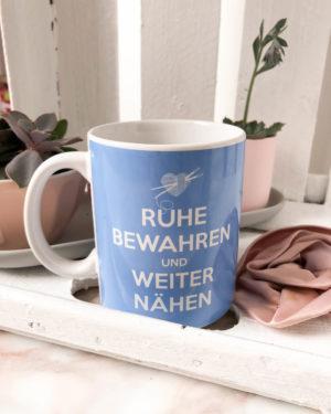 """Kaffeebecher       """"Ruhe bewahren"""""""