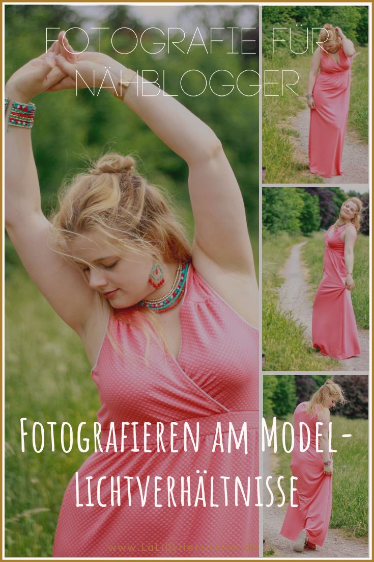Fotografieren am Model, das beschäftigt Nähblogger immer wieder, denn nichts anderes als ein Bild auf dem Kleidung oder Accessoires getragen werden, vermittelt einen besseren Eindruck der genähten Werke. Heute erkläre ich dir die ersten Basics zur Modefotografie