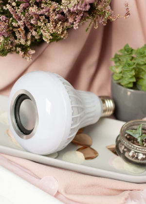 Lautsprecher Leuchtmittel LED