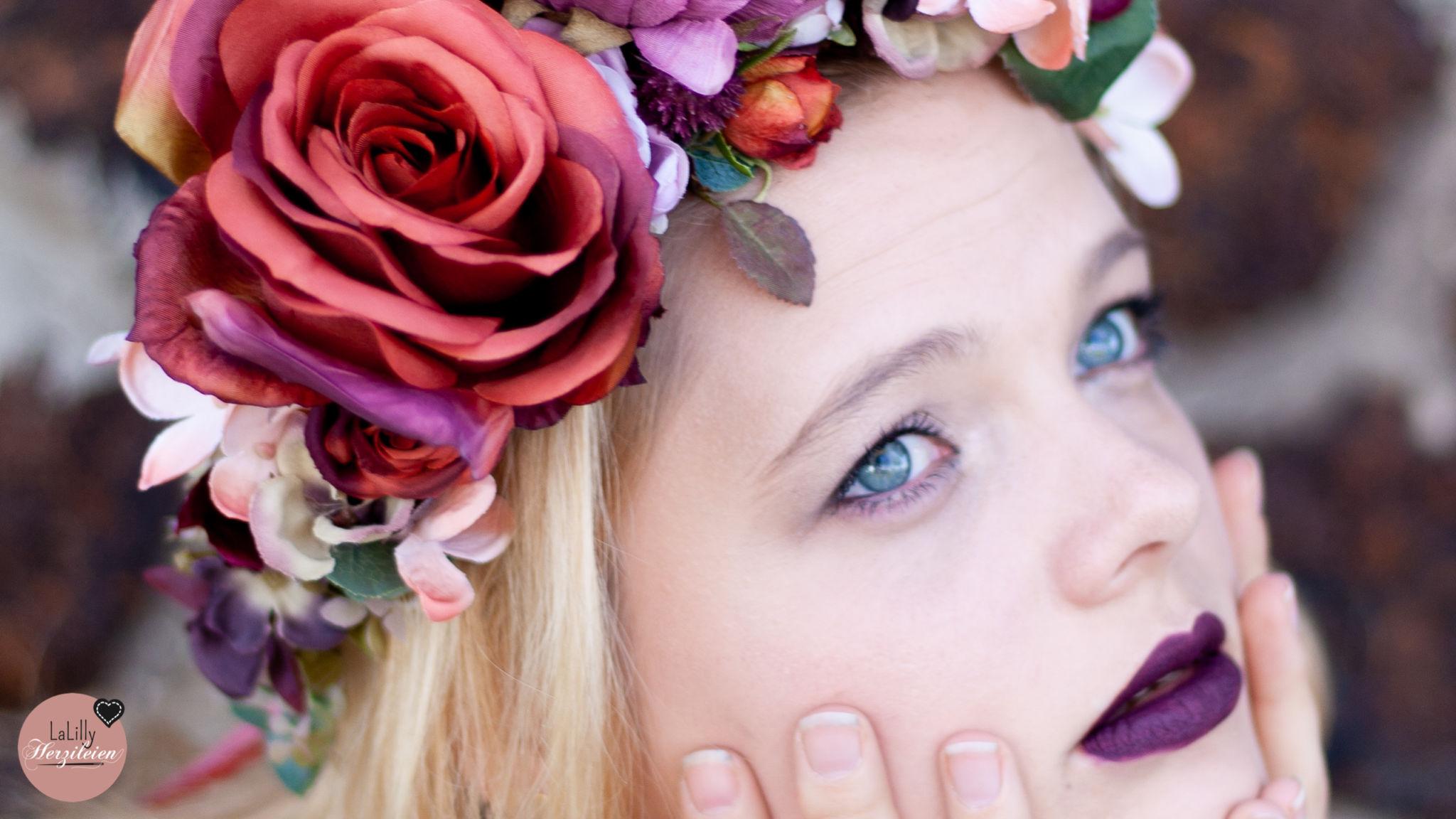 Blumenkranz Flores – romantischer Haarschmuck für Groß und Klein