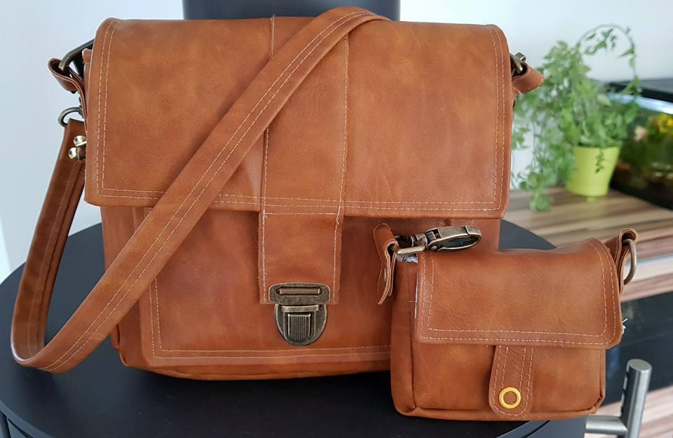 Boxbag Ysabel genäht nach der digitalen Nähanleitung von LaLilly Herzileien in der Größe Midi und Micro