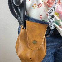 Minibags Jonabel mit Lasche als Nähnerd-Gürtel-Holster