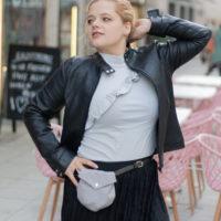 Minibags Jonabel mit Klappe als Gürteltasche