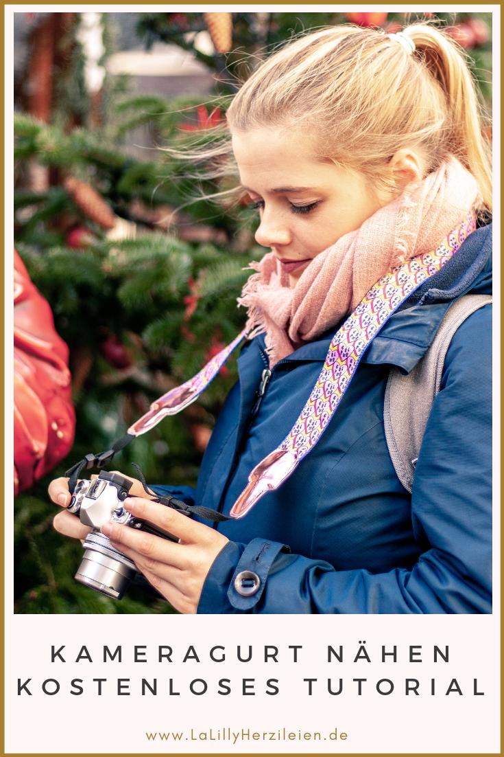 Du hast genug von langweiligen Kameragurten, wie sie die Hersteller mitliefern? Oder suchst du ein individuelles Geschenk für einen Fotografie-Fan? Mit meinem Tutorial kannst du ganz einfach einen Gurt selber nähen. Perfekt als DIY-Geschenk!