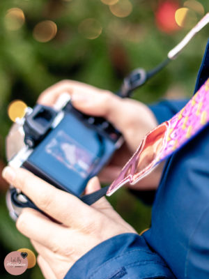 Kameragurt nähen – kostenloses Tutorial