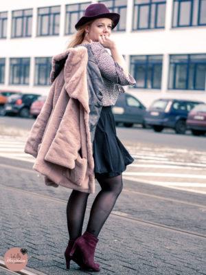 Webpelz nähen – Fake Fur Mantel Mailand