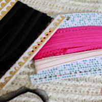 Wickelkarten RibbonLove zum Ordnen von Bändern und Garn