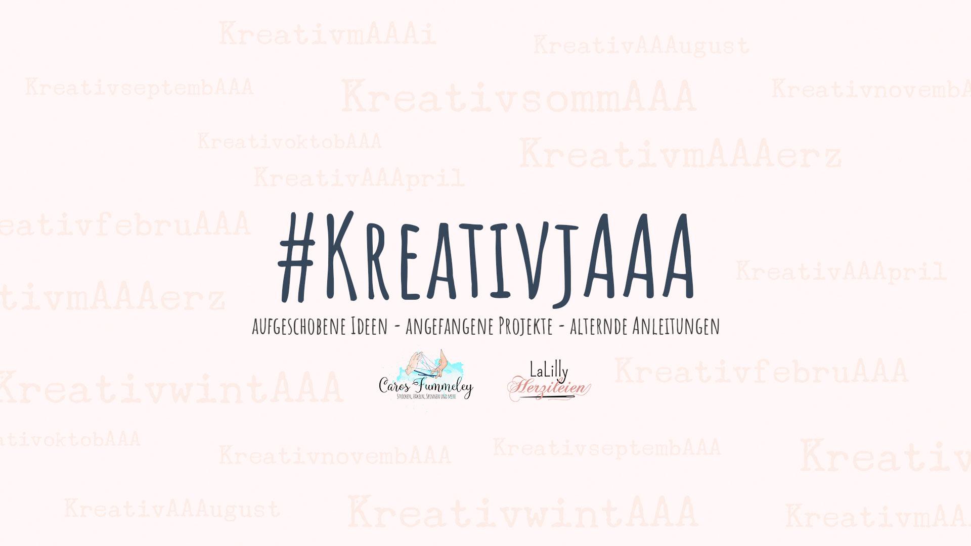 #KreativjAAA – Mein KreativwintAAA und das erste Challenge Projekt