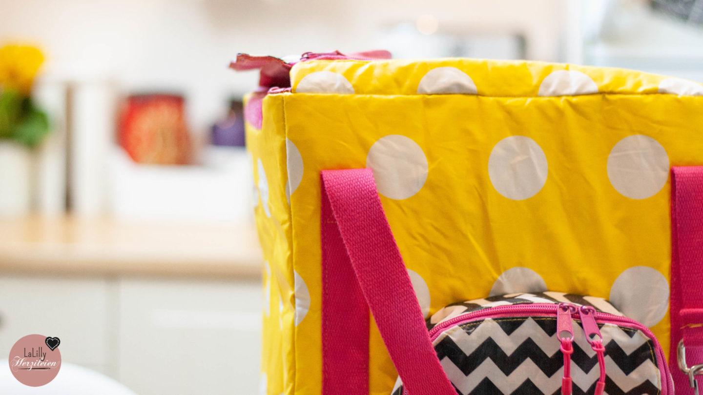 """Eine Kühltasche selber nähen? Das kannst du mit etwas Erfahrung und dem Schnitt """"Coolbag Nevera"""" auch! Hol dir jetzt das Schnittmuster + Anleitung!"""