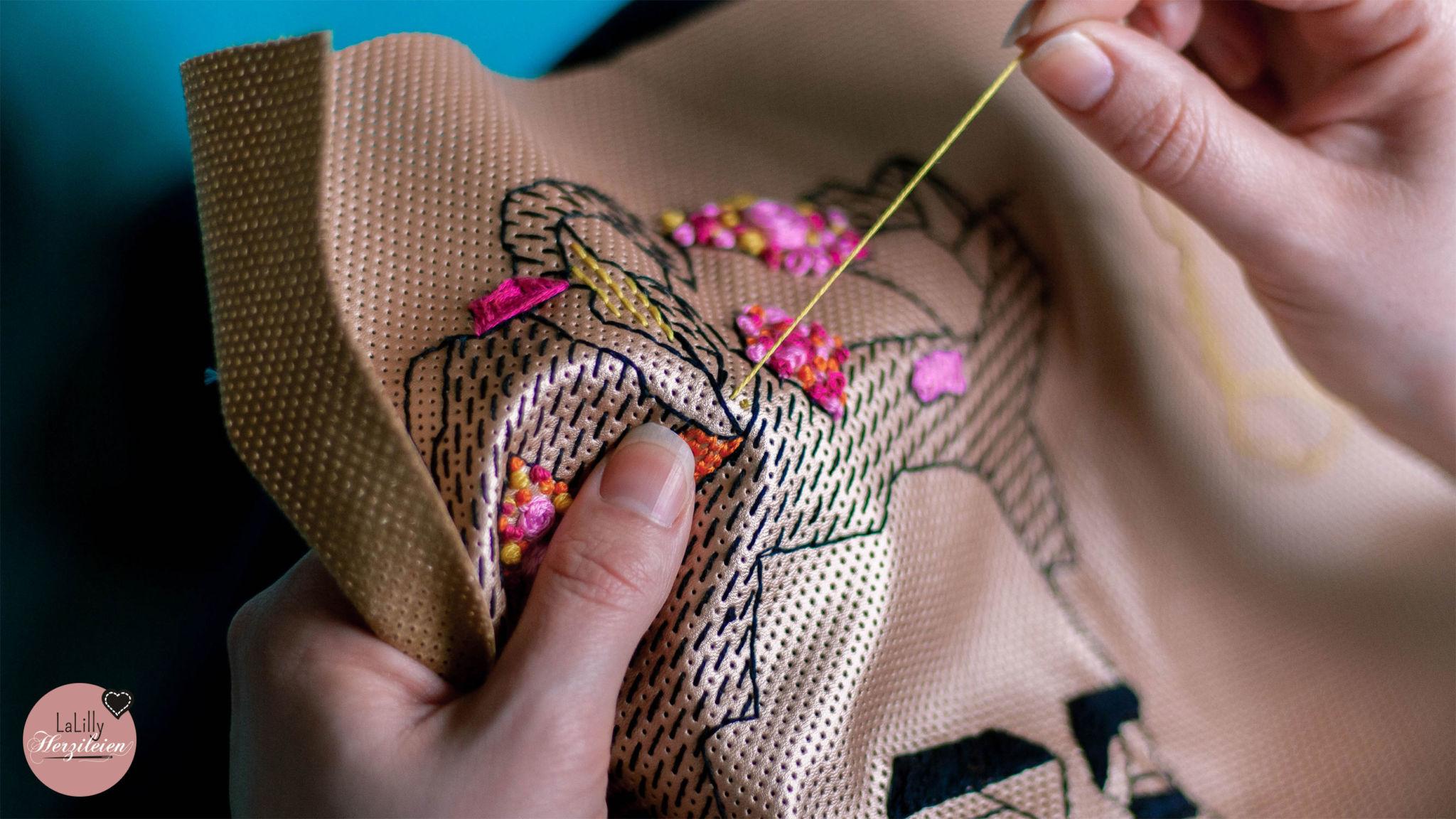 French-Knots Sticken für Anfänger