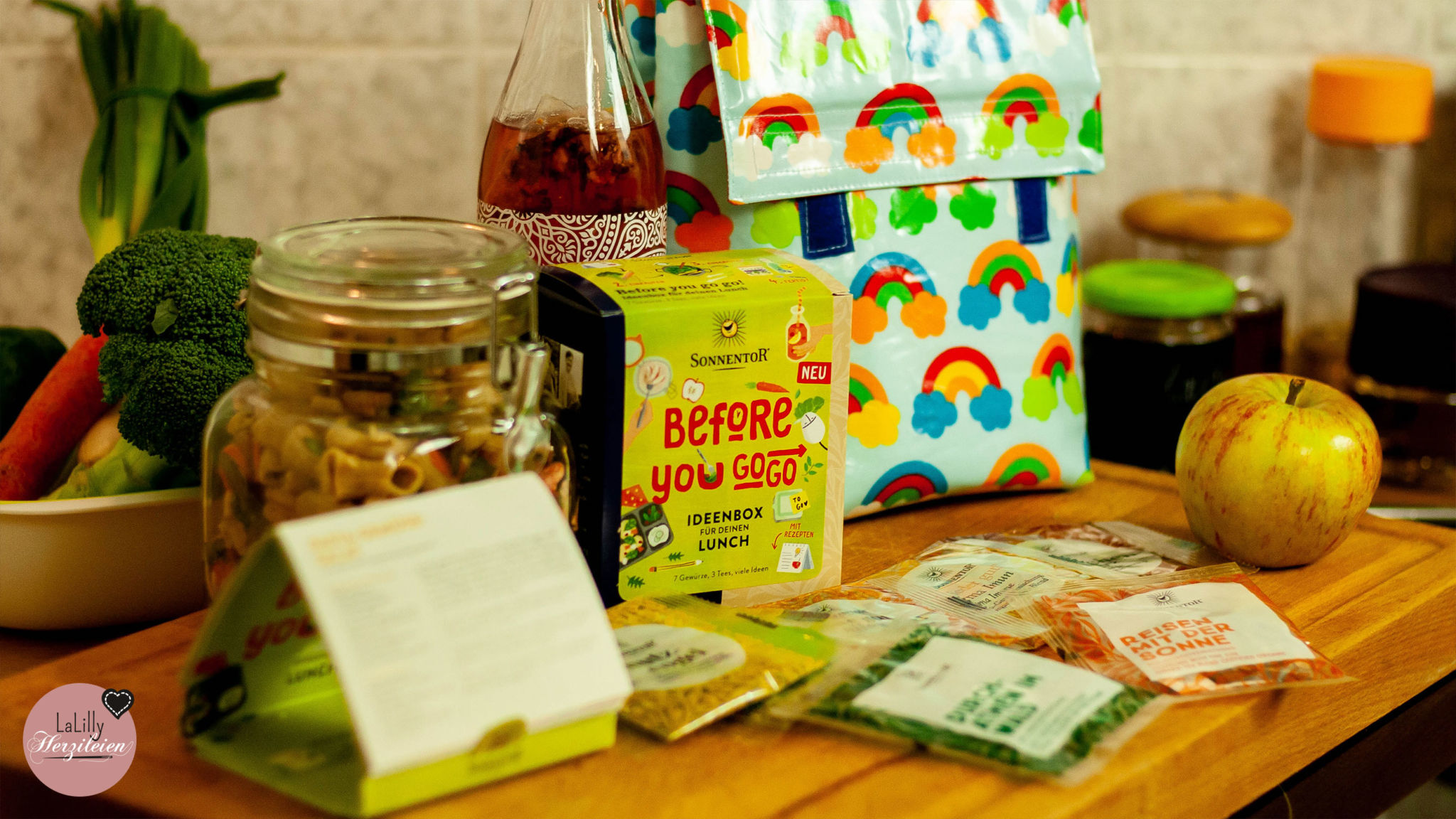 Anzeige / kostenloses Schnittmuster: Lunchbag nähen mit SONNENTOR