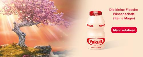 Yakult eine kleine Flasche Wissenschaft Kirschbaum