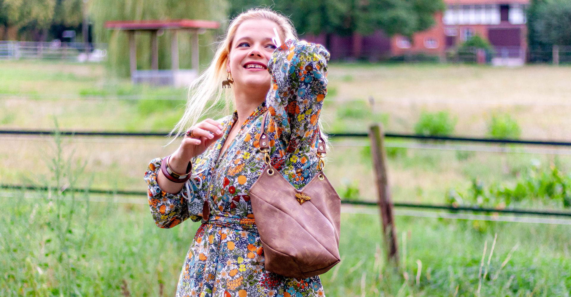 Neues Schnittmuster: Twisted Totebag Claribel