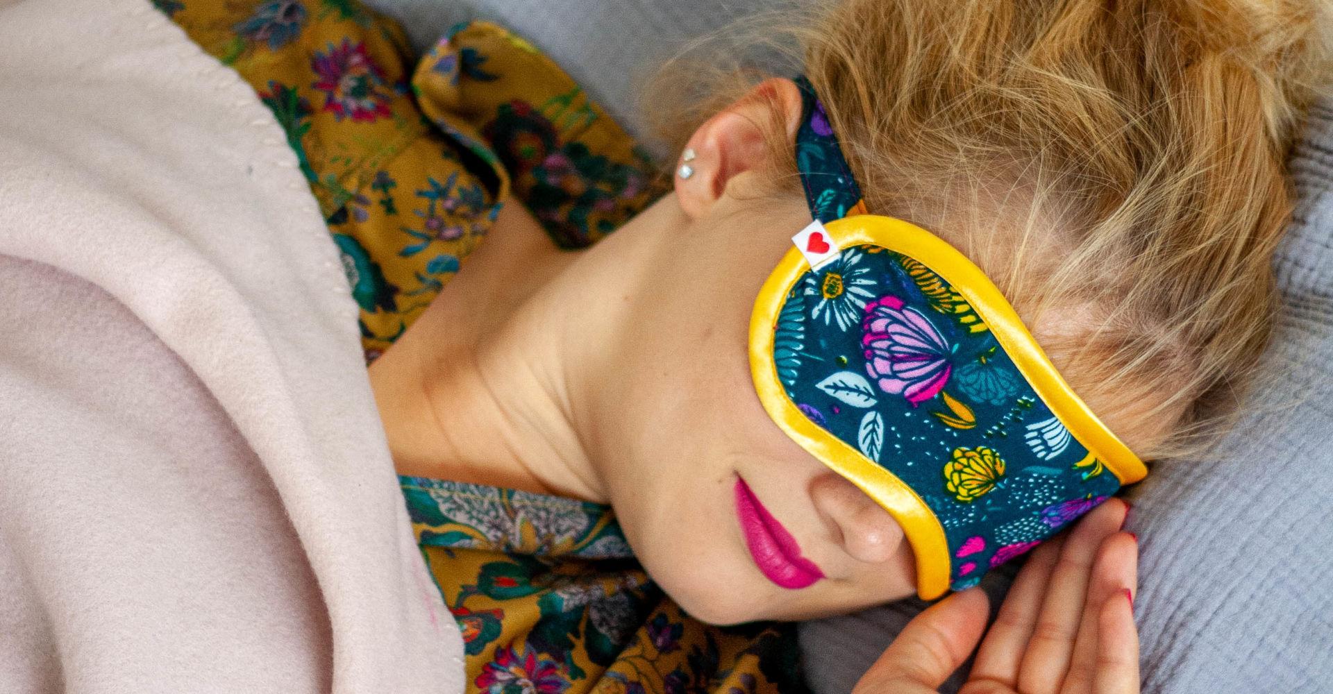 Anzeige: Schlafmaske nähen – kostenloses Tutorial