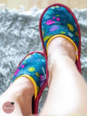 Anzeige: Pantoffeln nähen – kostenloses Tutorial