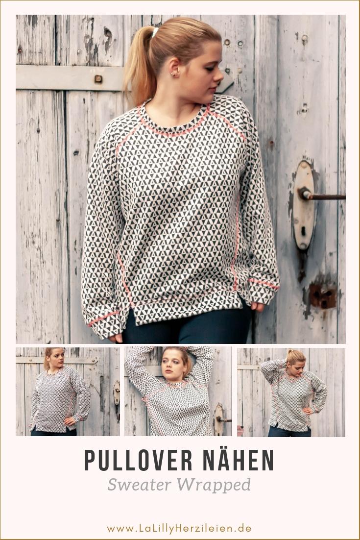 Es ist Sweater-Wetter und passend dazu zeige ich dir Bilder von meinem Sweater Wrapped. Vielleicht möchtest du ja einen Pullover nähen und suchst noch Inspiration?