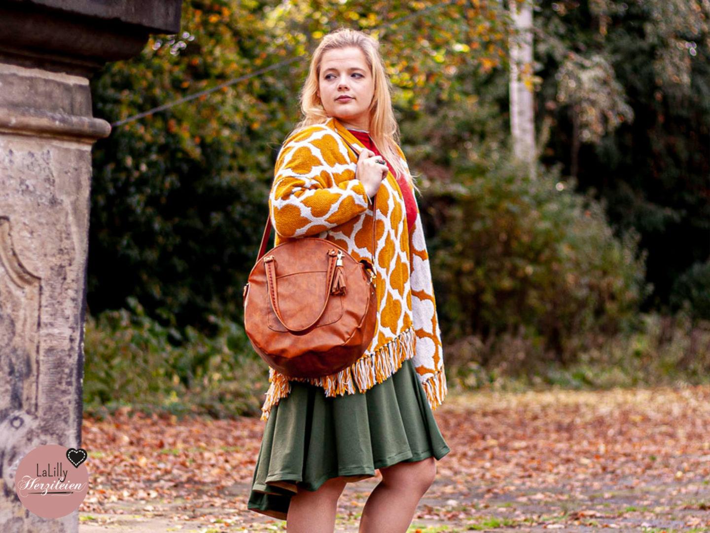 Circlebags sind zeitlos, edel und immer ein Hingucker. Du kannst mit dem Schnittmuster-Ebook Rondabelita eine Circlebag nähen wie sie dir gefällt!