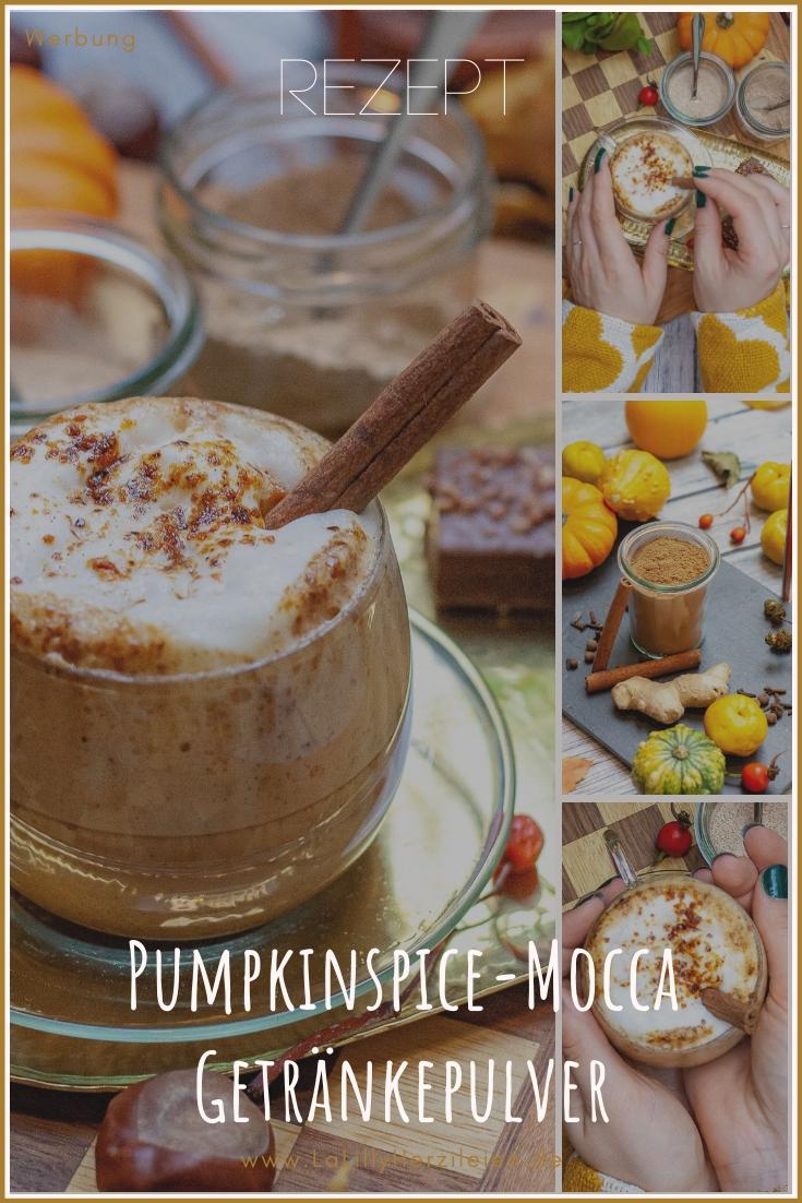 Pumpkinspice ist aus dem Herbst nicht wegzudenken. Ich zeige dir nicht nur wie du das Trendgewürz selber mischen kannst, sondern verrate dir auch meine Rezepte für selbstgemachte instant-Getränkepulver für Pumpkinspice-Latte, Pumpkinspice-Mocca und Pumpkinspice-Chocolate. Die Getränkepulver eignen sich auch toll zum Verschenken!