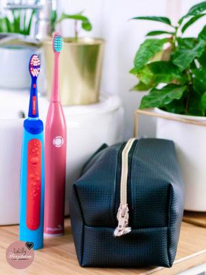 Anzeige: Kulturtasche nähen für die Playbrush Smart One