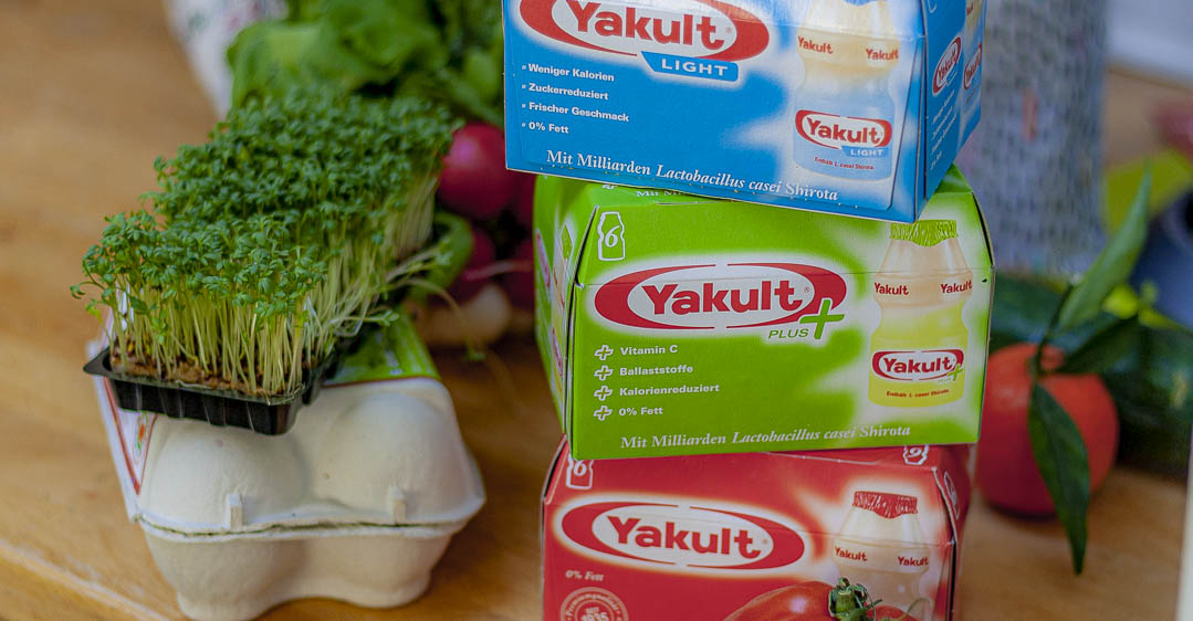 Anzeige/kostenlose Nähanleitung: Wochenend- Vorbereitungen mit Yakult