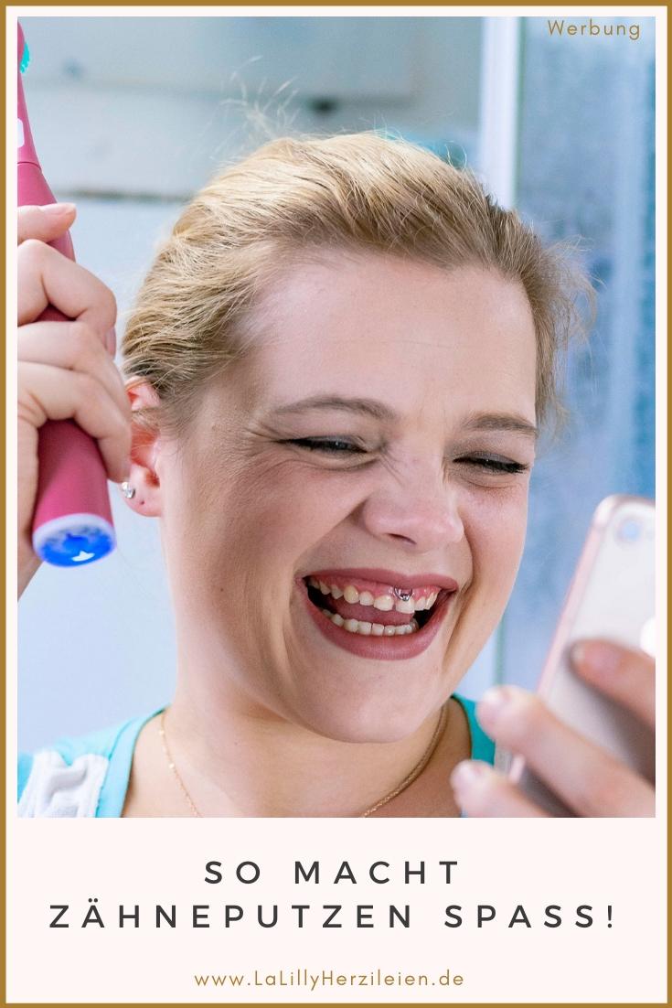 Anzeige: Mit der Playbrush Smart One wird Zähneputzen zum Spaß! Heute kannst du passend dazu eine Kulturtasche nähen (Anleitung Gratis)!