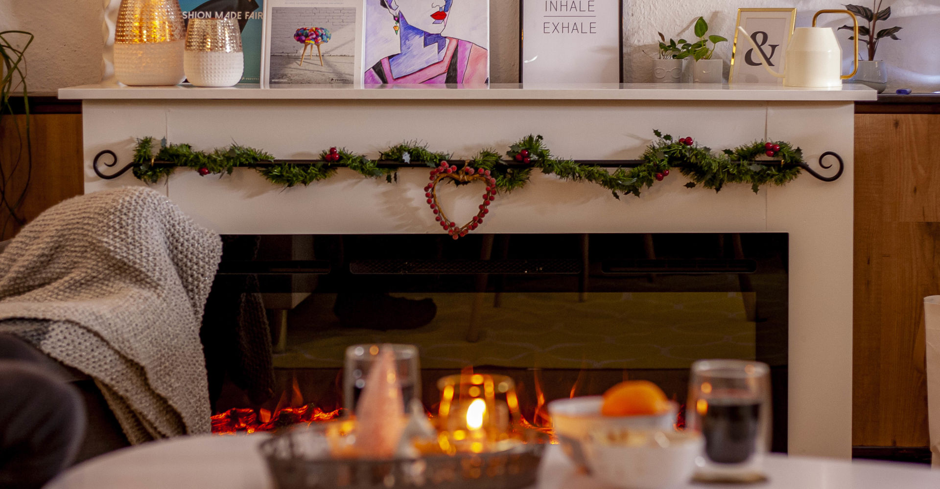 Anzeige: Gemütliche Winterabende mit dem Noble Flame Elektrokamin
