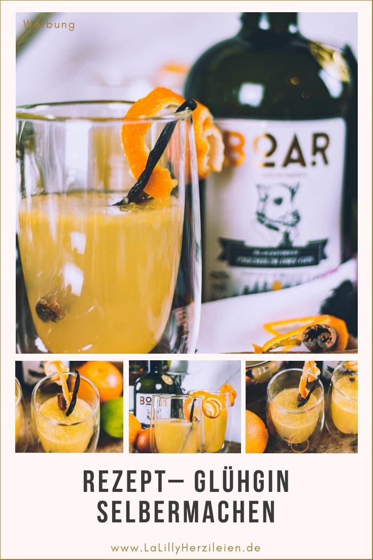 Glühgin ist die perfekte Alternative für all die, die keinen Glühwein mögen, aber winterlich warme Getränke lieben! Ein Glühgin Rezept für Gin-Liebhaber!
