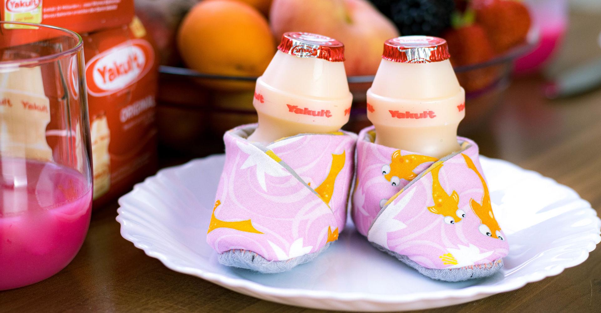 Anzeige: Babyschühchen nähen – ein neues Japan DIY mit Yakult