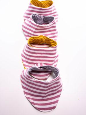Kostenlose Anleitung Babyhalstuch Carla nähen