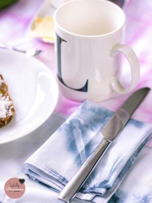Anzeige: Shibori-Frühstücksset nähen mit Yakult