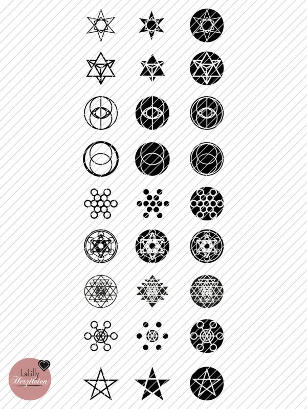 Plotterdatei Heilige Geometrie