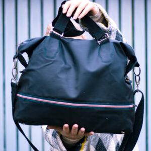 Taschen nähen Anleitung kostenlos – 100 Taschen Freebies zum Nähen
