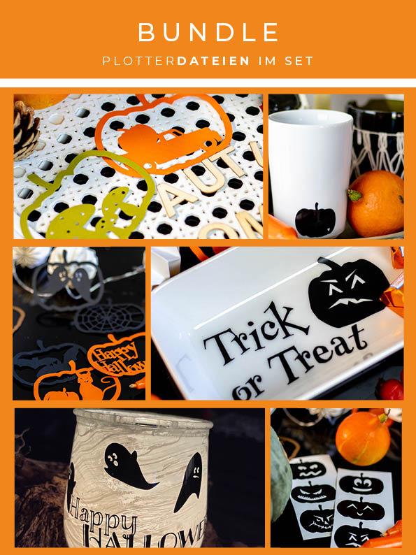 Plotterdatei Bundle Halloween